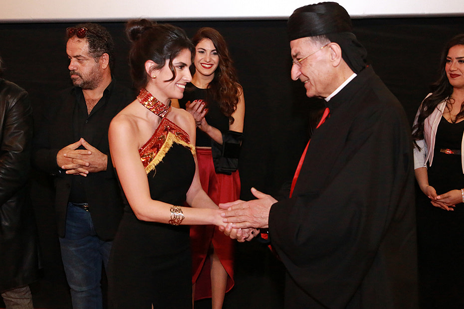 On Wednesday, March 14, 2018, a special screening was held for Morine movie at Grand Cinemas in Dbayeh, in presence of Patriarch Bchara Boutros Al Rai.